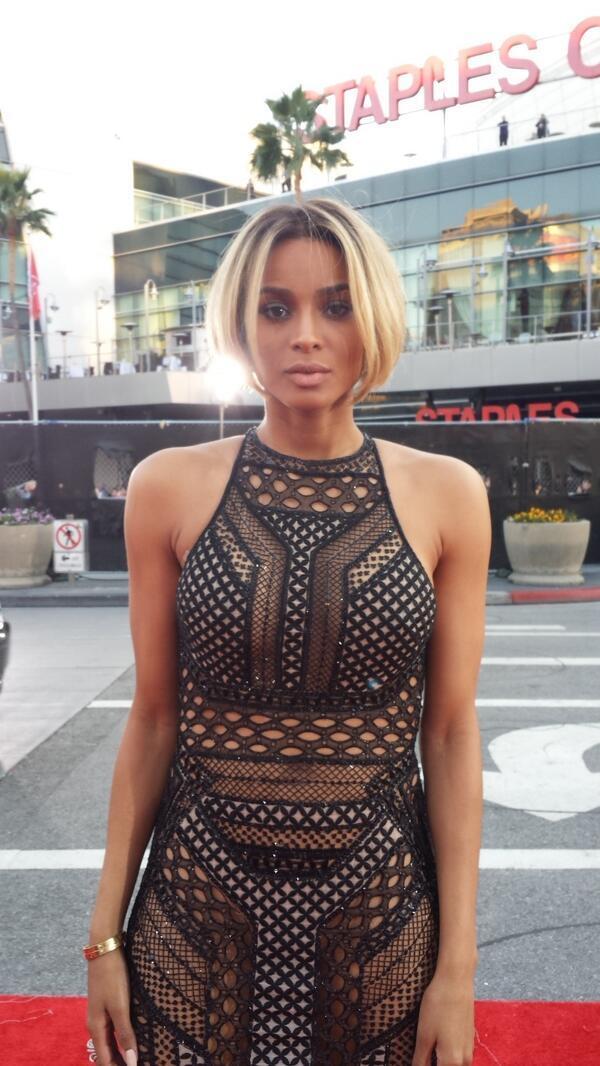 Ciara at 2013 AMA
