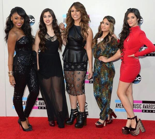 Fifth Harmony at the 2013 AMA Red Carpet