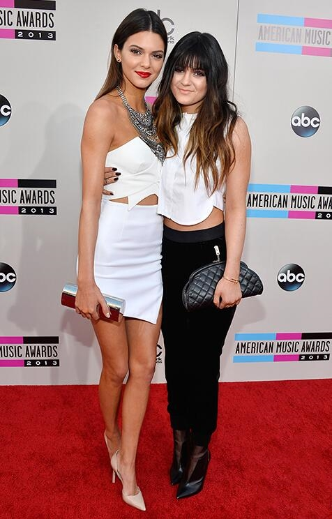 Jenner Sisters at the 2013 AMA Red Carpet