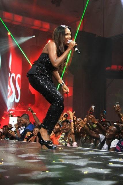 colorful concert Tiwa Savage