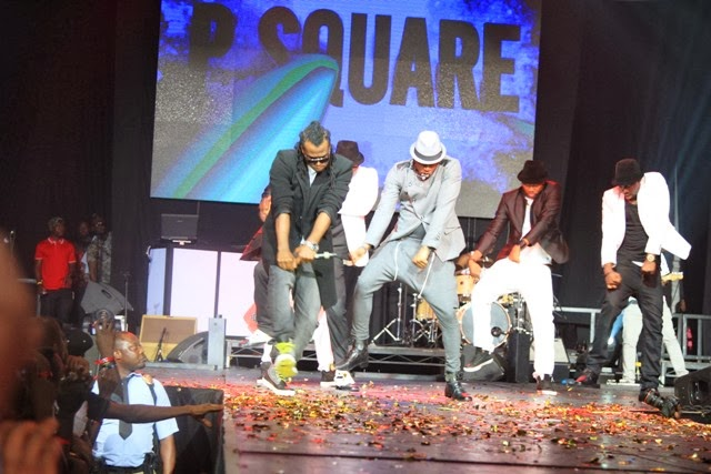 PSquare performing