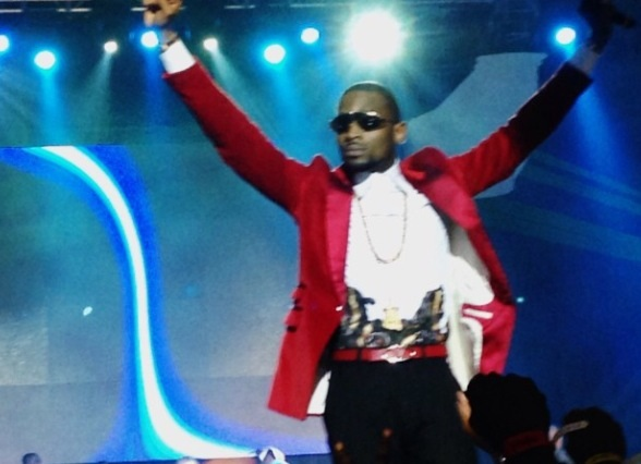 Dbanj on Stage