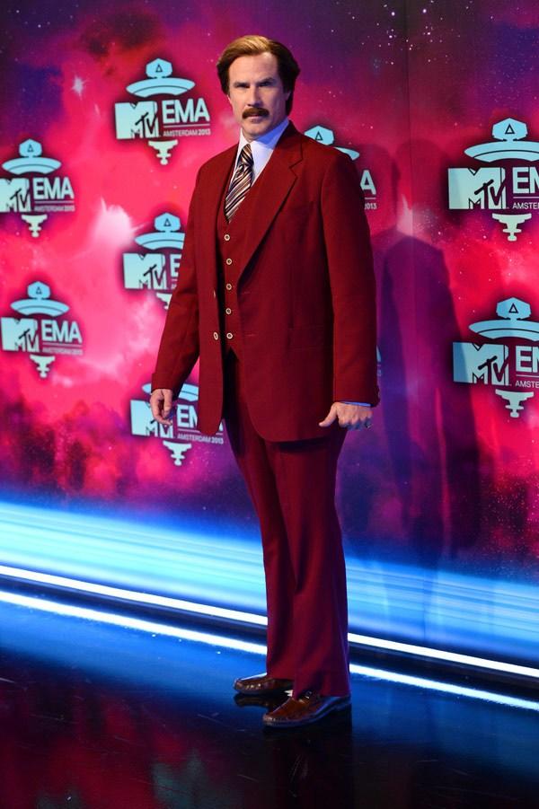 Funnyman Ron Burgundy