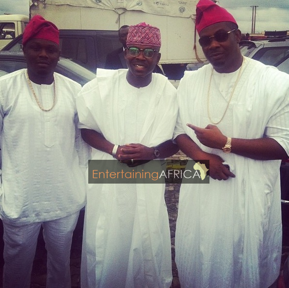 tiwa and tunji don jazzy in agbada