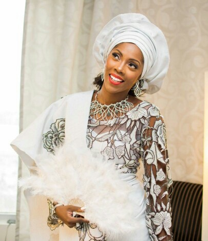 tiwa savage and tunji wedding 2