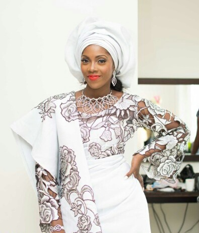 tiwa savage and tunji wedding